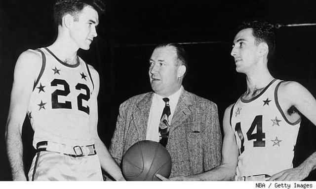 NBA first All- Star game.