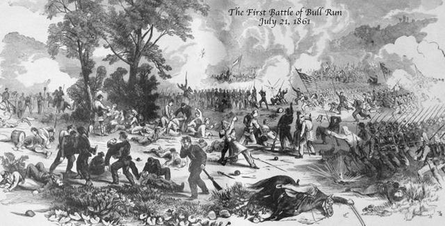 The battle of bull run (1st)