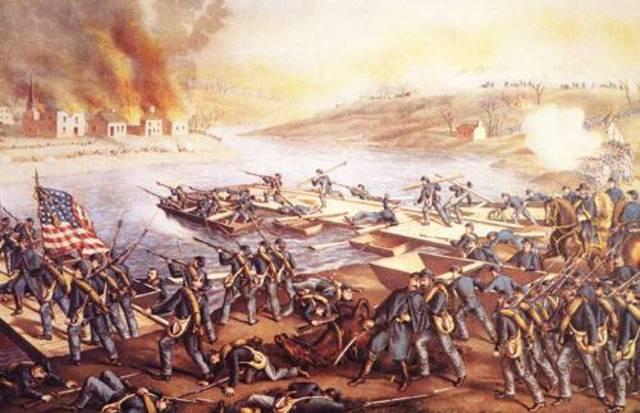 the battle of fredricksburgh