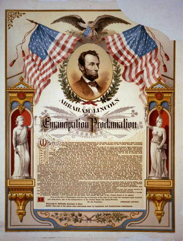 emancipation proclomation