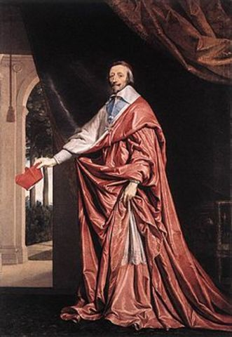 Cardinal Richelieu appointed