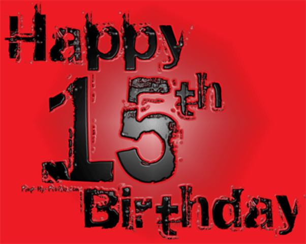 My 15th Birthday