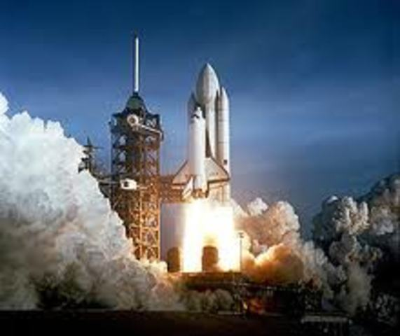 Shuttle Columbia lifts off