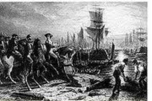British Retreat from Boston