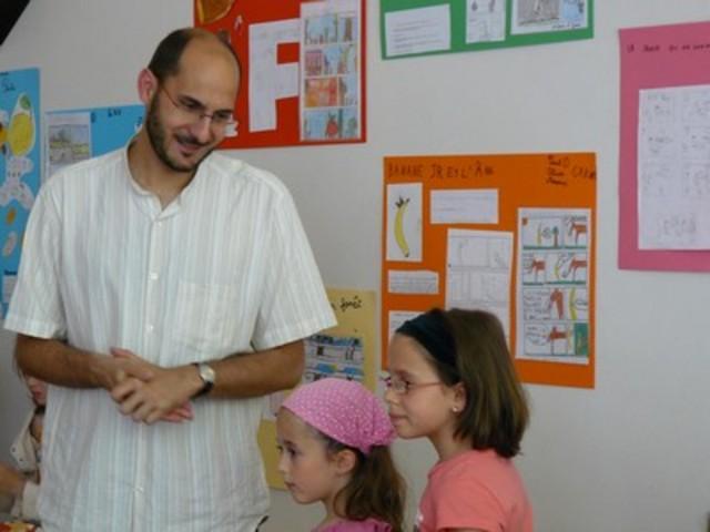 Projet BD visite de M Méral au collège des pierres dorées
