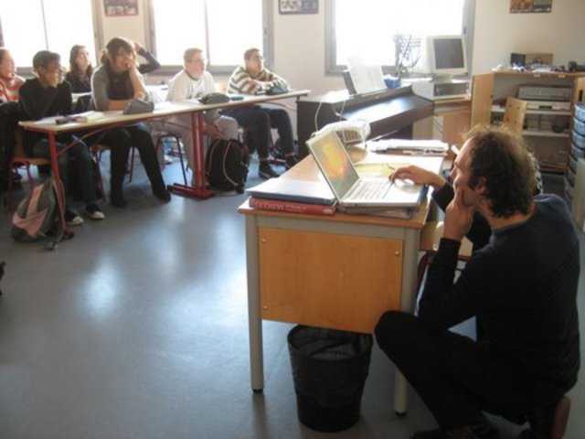 Formation des classes Finisterrae
