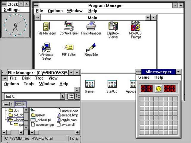 Windows 3.1x