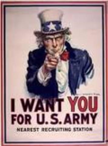 United States enter WWI