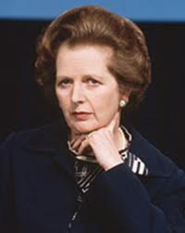 Margaret Thatcher became prime minster of the United Kingdom
