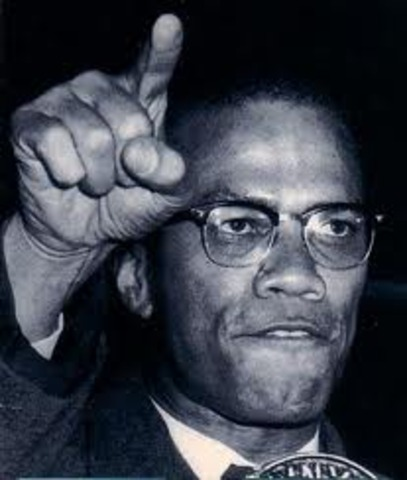 Malcolm X creats the black panthers