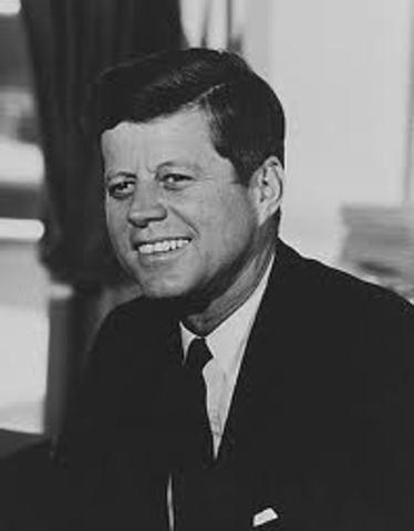 John F. Kennedy became president