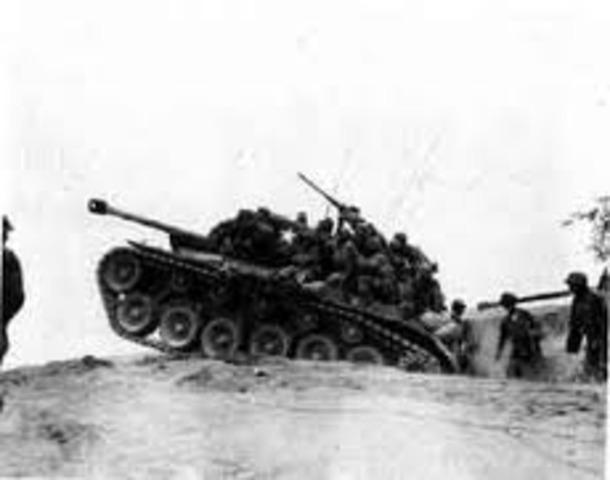 Korean War began