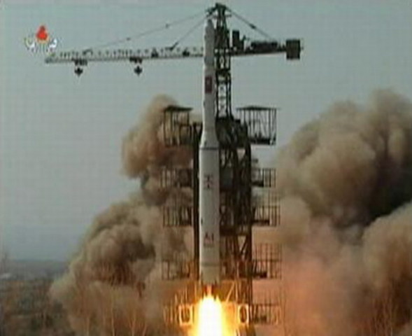 China lift and crashed rocket