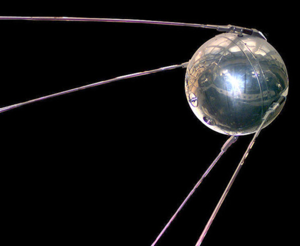 Sputnik 1 is launcehd