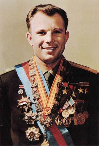 Yuri Gagarin is the first person in space