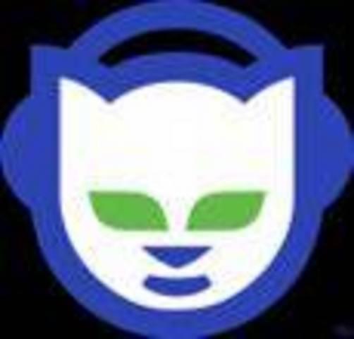 Napster website