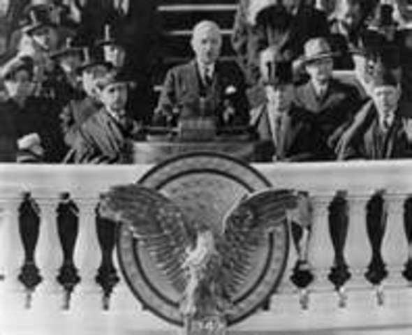 President Truman's inauguration speech.