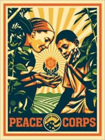 Peace Corps created.