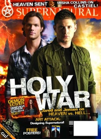 Supernatural magazine from my sister