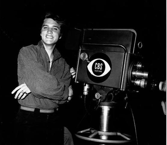 Elvis Presley recorded his television debut