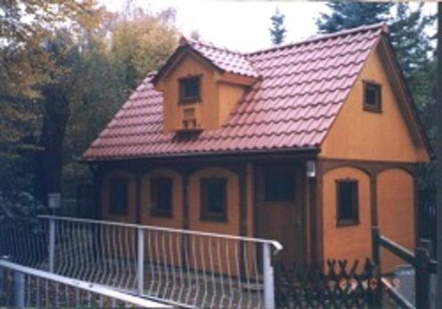 Hühner- und Taubenhaus