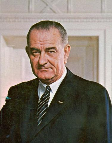 Lyndon B Johnson Becomes President