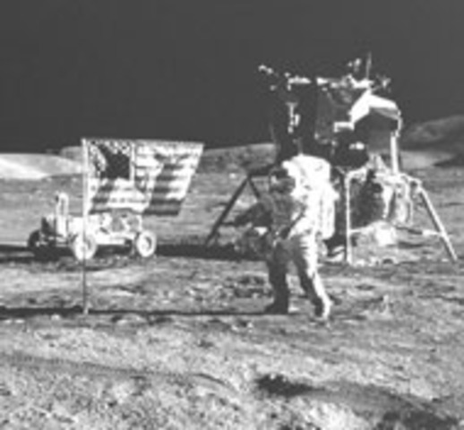 U.S. is the First Nation to the Moon