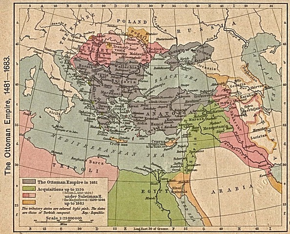 Turkish plans for the Empire