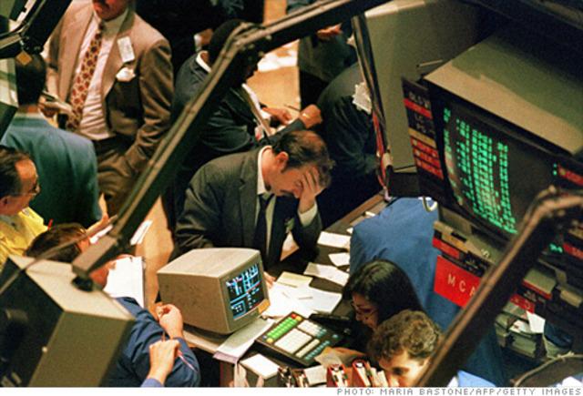 New York Stock Market Crashes