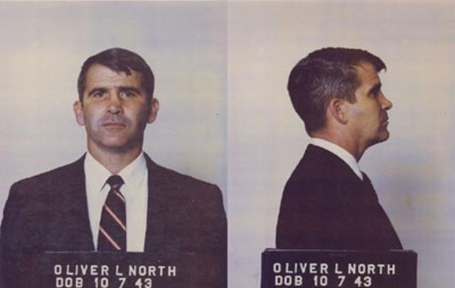 Oliver North Arrested