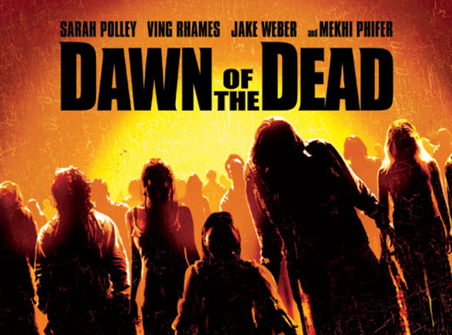 Disturbed's song in the movie Dawn of the Dead