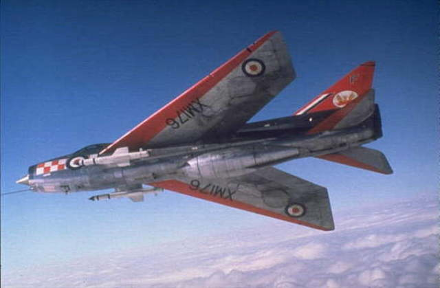 56 Sqn  Re-equips with first Lightning F1A's
