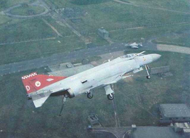 56 Sqn. re-equip with the Phanton FGR2