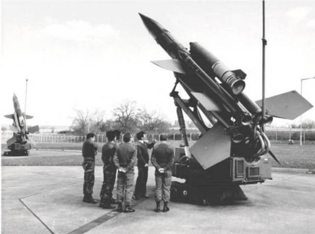 'E' Flight replaced by 'C' Flight looking after the Bloodhound Missiles