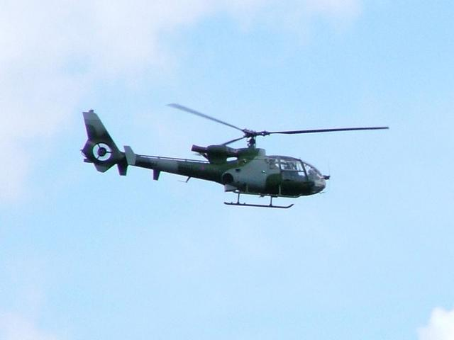 3 Regiment Army Air Corps arrive