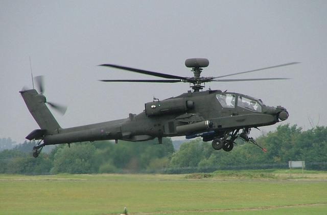 2 Apache AH1 attack helicopters delivered to Wattisham