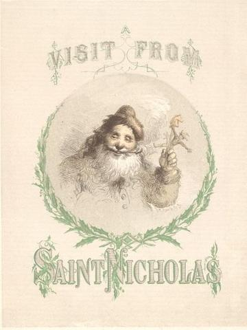 The poem A Visit from St. Nicholas is published