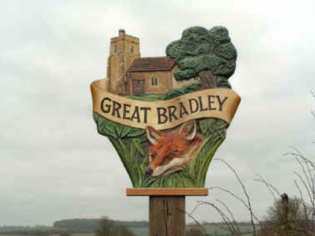 Second Village Sign erected
