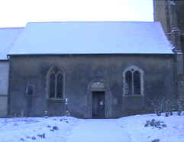 Norman part of Church is late 12th C