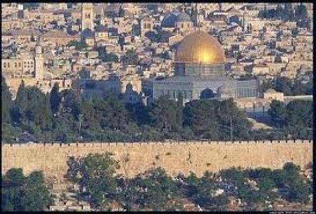 La Tierra Santa bajo el dominio de los musulmanes