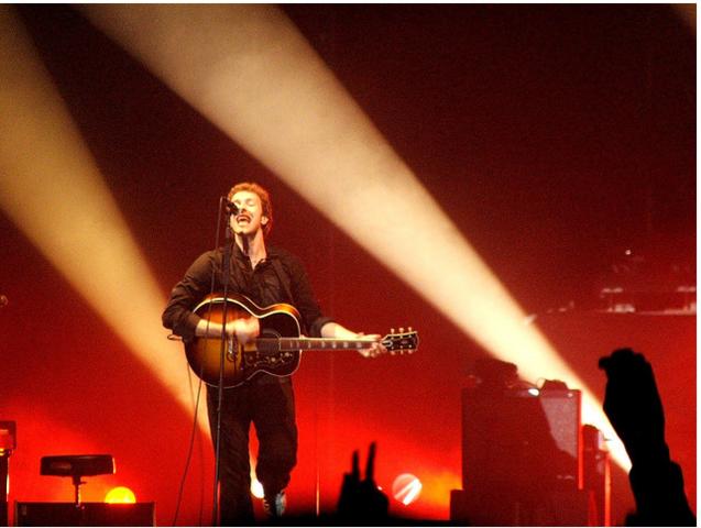 Coldplay en Chile (Primer día)