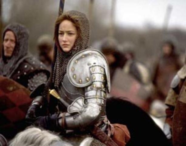 Juana de Arco cambió la situación