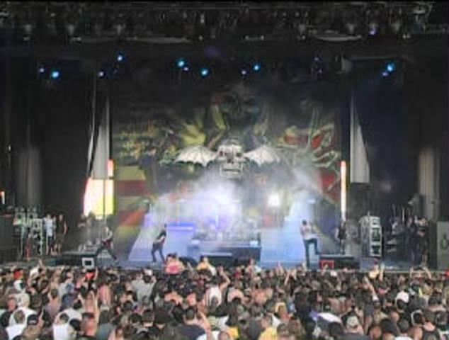 Ozzfest tour 2006