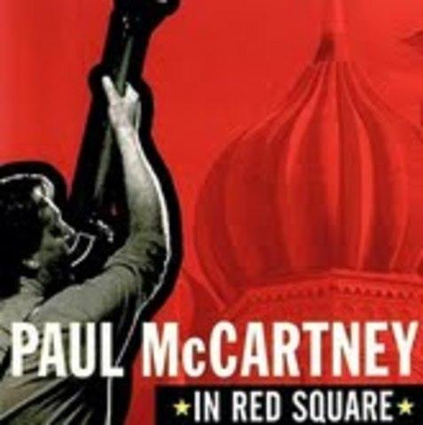 Paul McCartney en Plaza Roja
