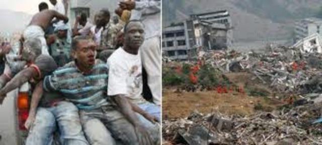 Catastrofe en Haiti