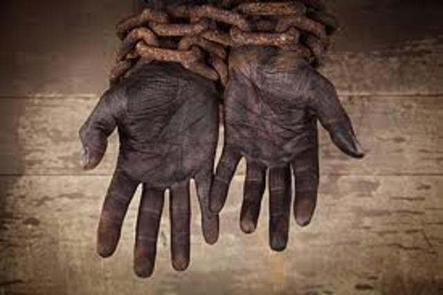 Seguian con la exclavitud