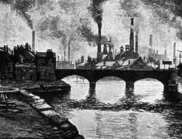 when and where did the industrial revolution began