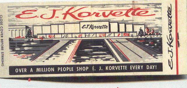 E. J. Korvette Founded