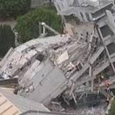 Major Earthquakes in NZ timeline