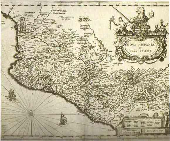 Primera fundación de la Villa de Guadalajara, en Nochistlán (hoy Zacatecas).
